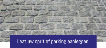 aanleg oprit & parking